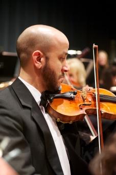 Sandro Santiesteban, concertmaster