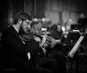 Joe Kneer, violin