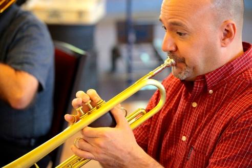 Brian Hannah, trumpet