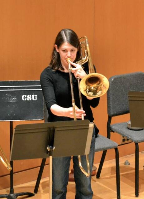 Whitney Clair, trombone